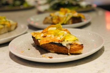 Carrie Baird's famous fancy toast